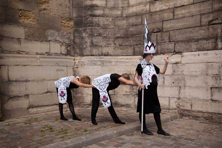 'Costume', 2012<br>performance