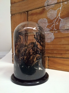 Alexis Beckett, 'Mystery Bird #1 - #5'  2015, Screen printed glass and acrylic, Dimensions variable