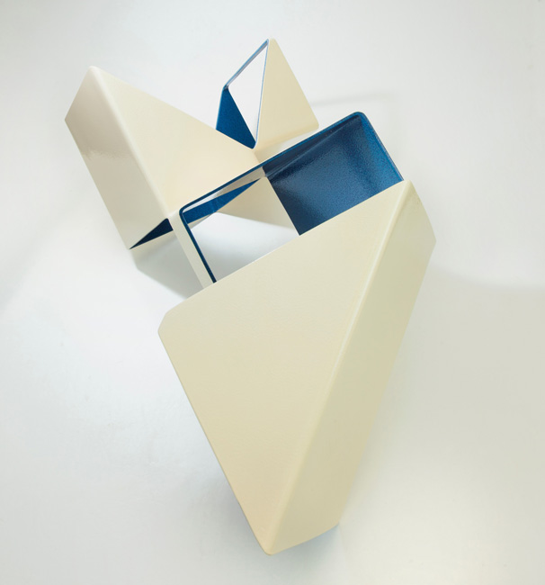 Piers Buxton, 'Compartmentalise', 2015, Mild steel powder coated and sprayed in 2pak, 100cm x 30cm x 40cm