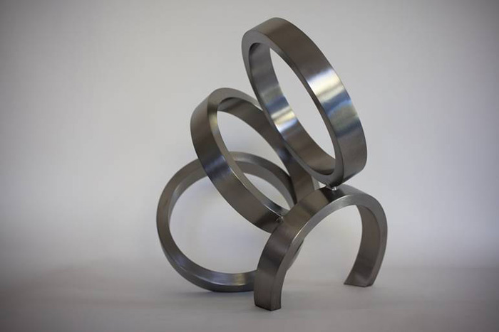 Stéphane Guiran, 'Instant – study 14', 2015, Stainless steel, 43 x 43 x 33 cm, Edition of 3