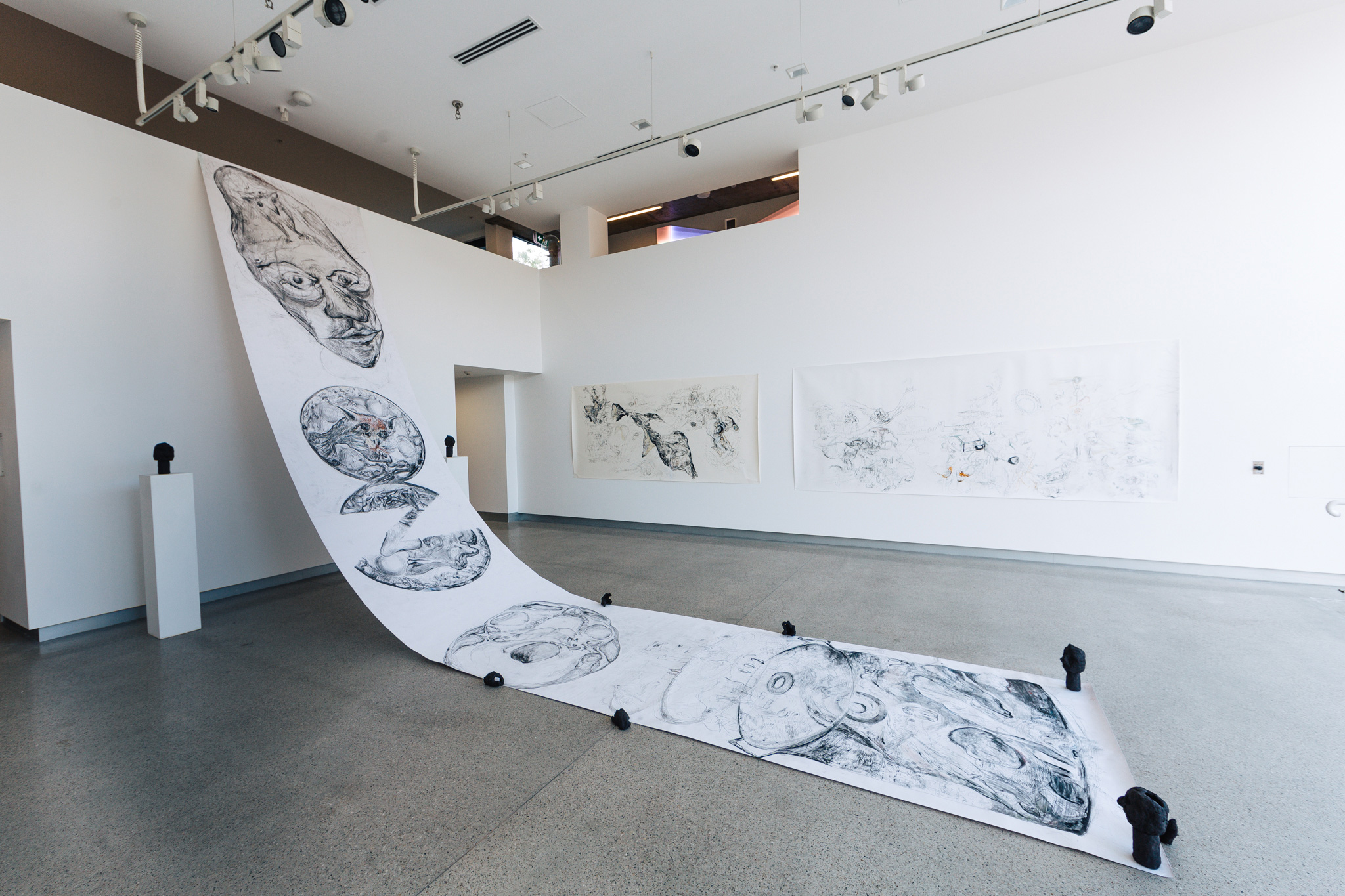 'Lend me your ear, I'll give you my tongue', 2016<br>installation view