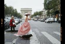 Model_Champs Élysées Paris_1995