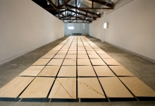 charles-anderson-in-collaboration-with-tim-schork-cloud-chamber-2011-wood-panels-dimensions-variable-installation-view-3