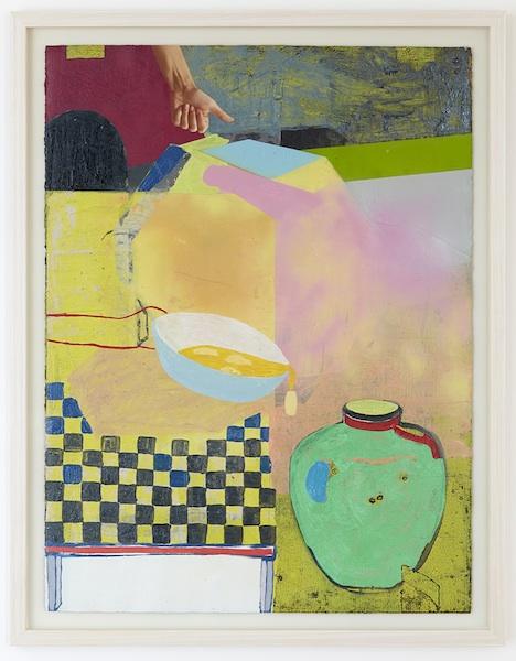 'Banana Bowl Green Vase', 2015 (SOLD)