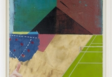 'Tennis Match at the Pyramids', 2015 (SOLD)
