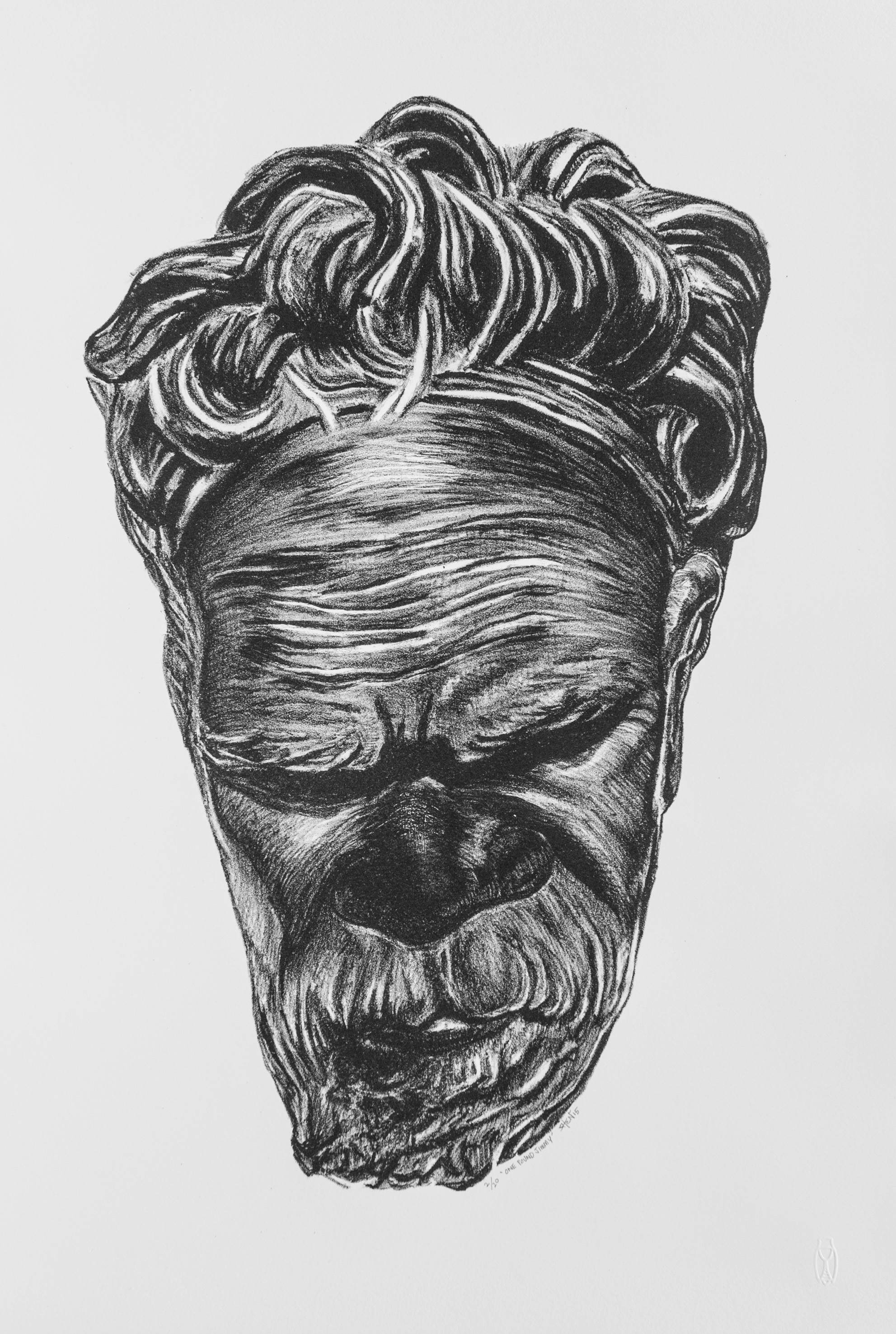 'One Pound Jimmy', 2015 <br>Lithograph, 56 x 38 cm each, Edition of 20 + 1AP