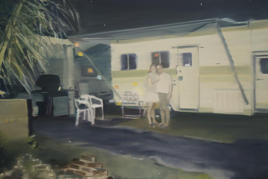Night Painting III, 2016