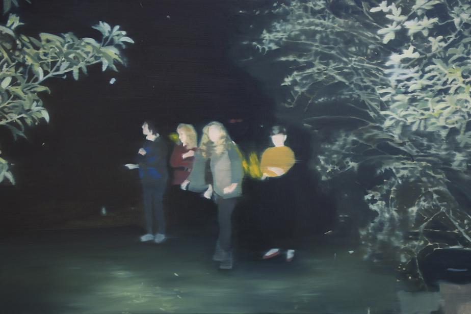 Night Painting IV, 2016