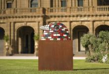 7-bird-wall-2008-bronze-59-x-100-x-22-cm-werribee-park-2008-helen-lempriere-national-sculptur