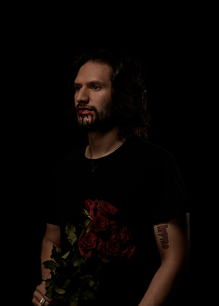 Diego Ramriez, New Vampire, 2019<br/>duratran print, lightbox, 59.4 x 42 cm, edition of 3 +2 A/P
