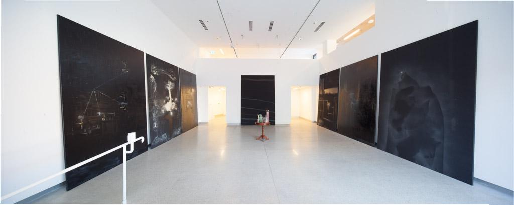 Domenico de Clario installation MARS Gallery
