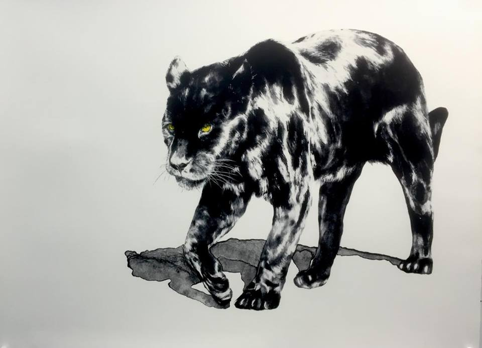 Anna Louise Richardson, 'The Sighting' <br> 2016, Lithograph on paper (edition of 10), 56 x 76 cm