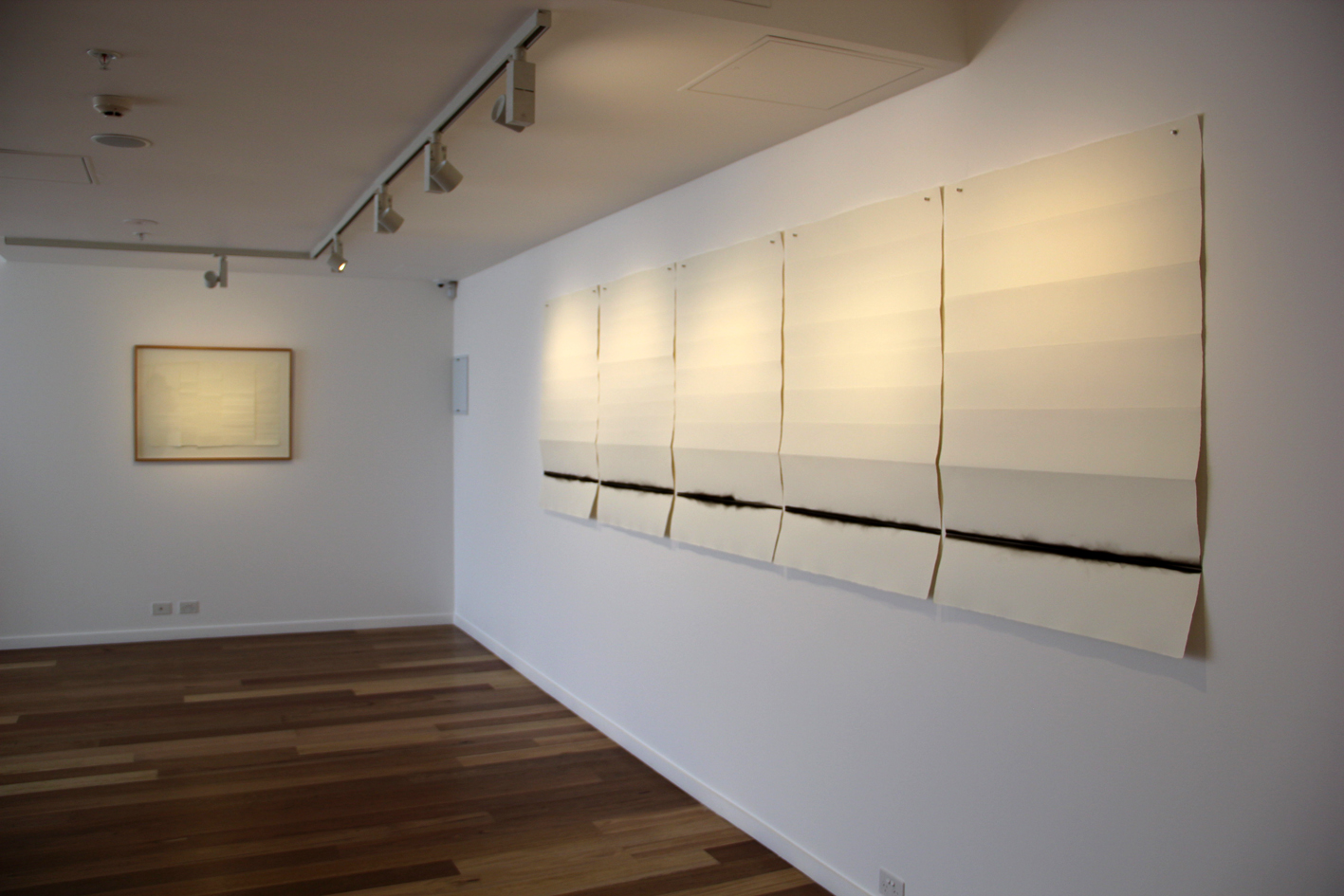 Elizabeth Wallace, A Crossing Place <br> Installation View
