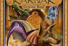 Graeme Base, 'Karnak' (Front Cover), 2011, 72 x 67 cm