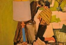 hitesh-natalwala-cobra-2011-oil-on-digital-print-on-paper-82-x-117-5cm-framed