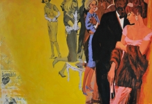hitesh-natalwala-coyote-2011-oil-on-digital-print-on-paper-78-5-x-128cm-framed