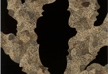 joanne-mott-eucalyptus-tricarpa-2011-hoop-pine-beeswax-acrylic-100-x-100cm