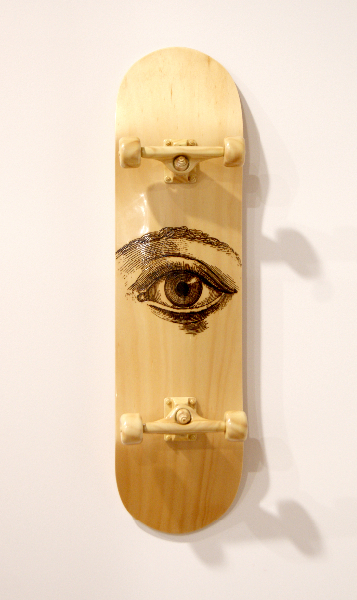 jud-wimhurst-ideck-pimitive-2012-wood-polyurethane-resin-epoxy-resin-and-acrylic-lacquers-106-x-28-x-18-5cm