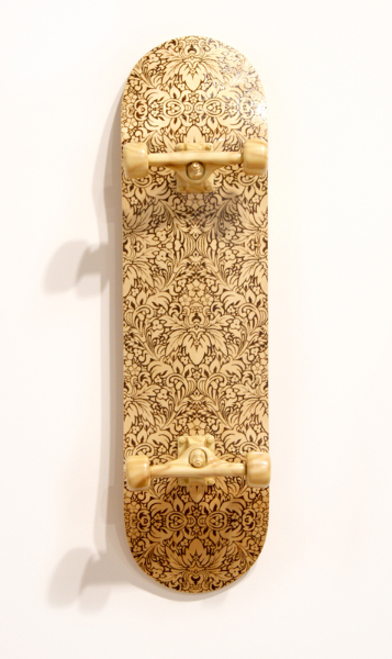 jud-wimhurst-off-the-wall-primitive-2012-wood-polyurethane-resin-epoxy-resin-and-acrylic-lacquers-106-x-28-x-18-5cm