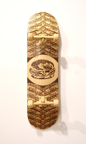 jud-wimhurst-primitive-freedom-2012-wood-polyurethane-resin-epoxy-resin-and-acrylic-lacquers-106-x-28-x-18-5cm