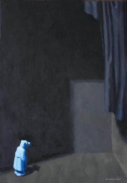 03. The Mystery 2015 Oil on canvas 66 x 45.5cm