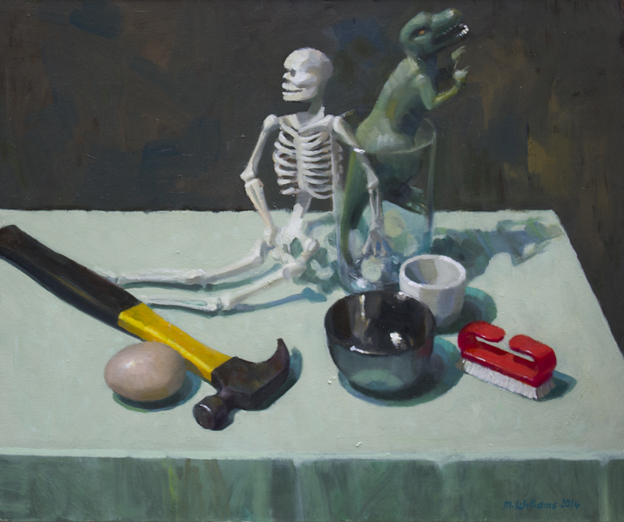 04. History 2014 Oil on canvas 55.5 x 56cm