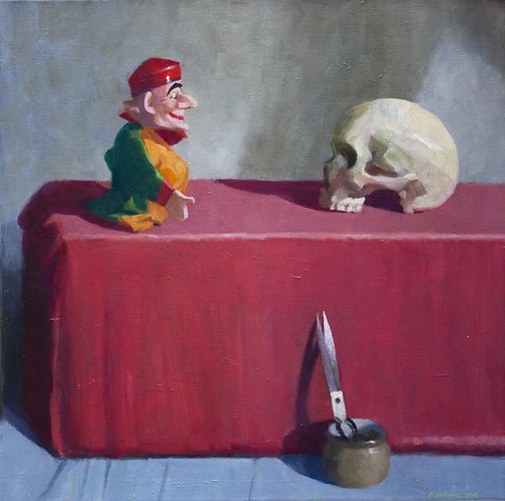 15. The appearance 2015 Oil on canvas 65.5 x 65.5cm