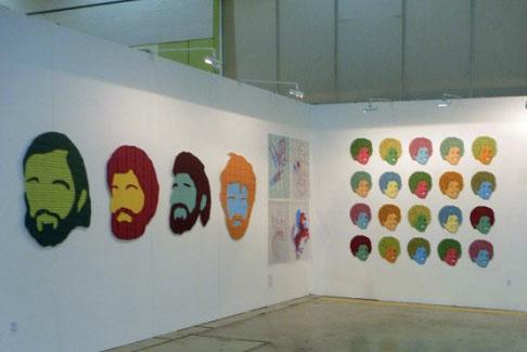samuel-tupou-korean-international-art-fair-2011-installation-view