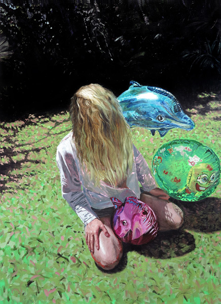 9. 'She eats her own tail', 2014 (SOLD)