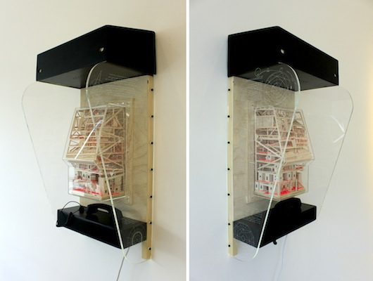 'Phone box 1: The Transmission of star stuff', 2014 (SOLD)
