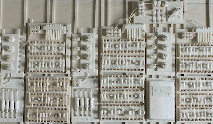 'Technological relic 2: The Oramics machine' (detail) , 2104