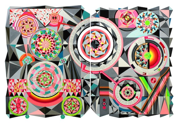 'The Electromagnetic Spectrum', 2014 (SOLD)