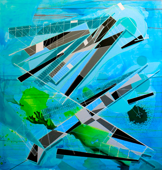 'Architectural folly for a melting glacier', 2015