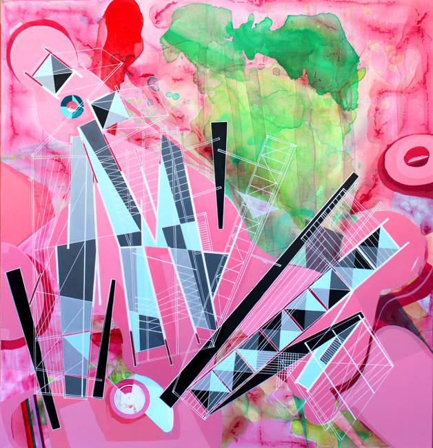 'Architectural folly for a pink lake', 2015