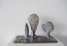 zoe-amor-the-visitor-2012-bronze-18-x-26-x-9cm-ed-of-3