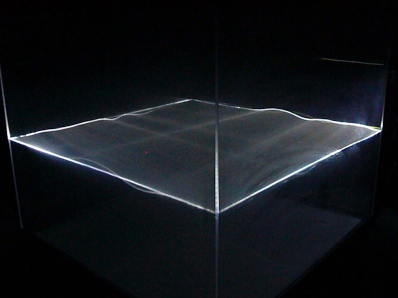 David Burrows Lucent interactive installation dimensions variable copy