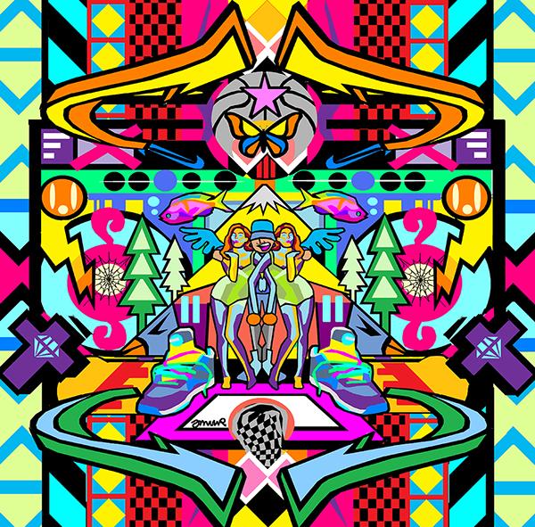 Josh Muir_Cosby_print on aluminium_80 x 81