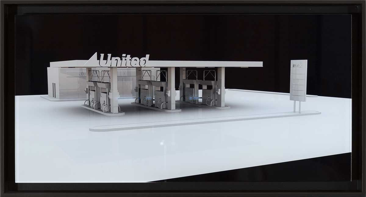 7. 'United', 2013 <br/> Lightjet photograph face mounted to perspex, 30 x 60 cm, Edition of 5 + 2AP