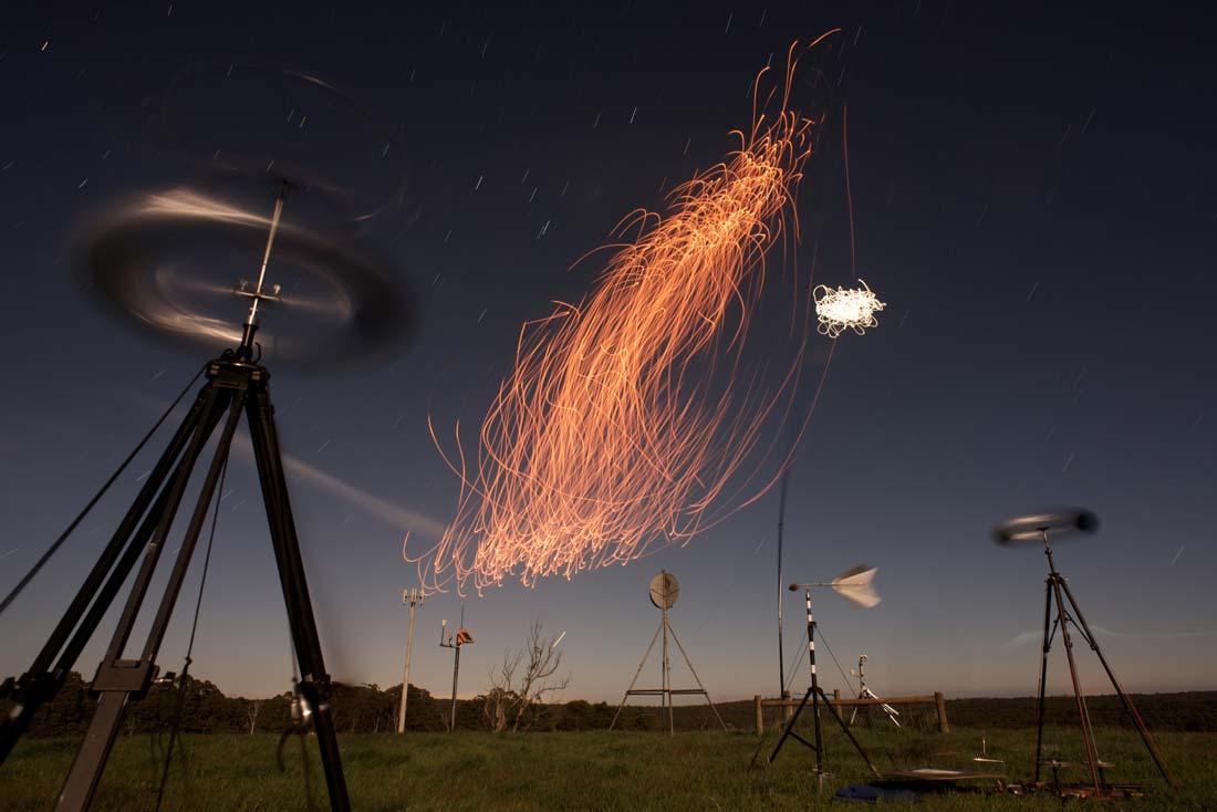 Anemograph Instrumental, Hepburn Wind Farm