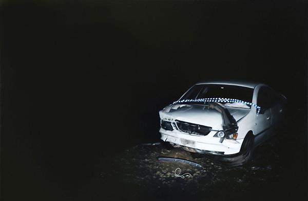 Camilla Tadich, Full Tilt, 2017<br/>oil on linen, 61 x 92 cm