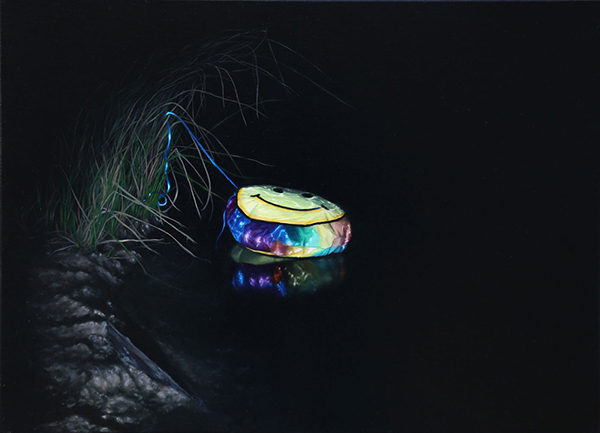 Wild Dog Creek, 2017<br>oil on linen, 40 x 55 cm