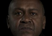 David Burrows, 'X', 2013, medium format stereoscopic slides, wood, viewers, led lights, 30 x 30 x 30 cm