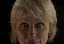 David Burrows, 'XI', 2013, medium format stereoscopic slides, wood, viewers, led lights, 30 x 30 x 30 cm