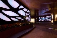 Priscilla Bracks,  2013,  'Acacia Light wall', 600+ LED's