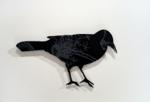 erin-tappe-flock-4-2011-wood-aluminium-dimensions-variable