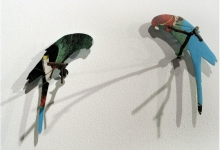 erin-tappe-flock-5-2011-wood-aluminium-dimensions-variable