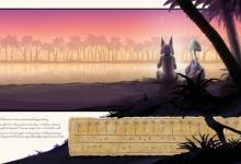 Graeme Base, 'Sunset on the Nile', 2011, 59 x 105 cm