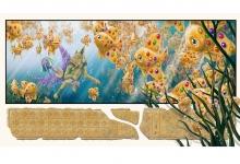 Graeme Base, 'The Glittering Treasures of the Nile', 2011, 59 x 105 cm