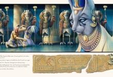 Graeme Base, 'Before the Pharaoh once more', 2011, 59 x 105 cm