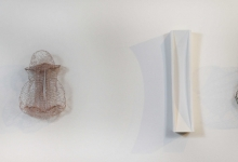 Greer Taylor, 'wired 5', 2013, knitted wire and bare copper, 45 x 45 x 18 cm